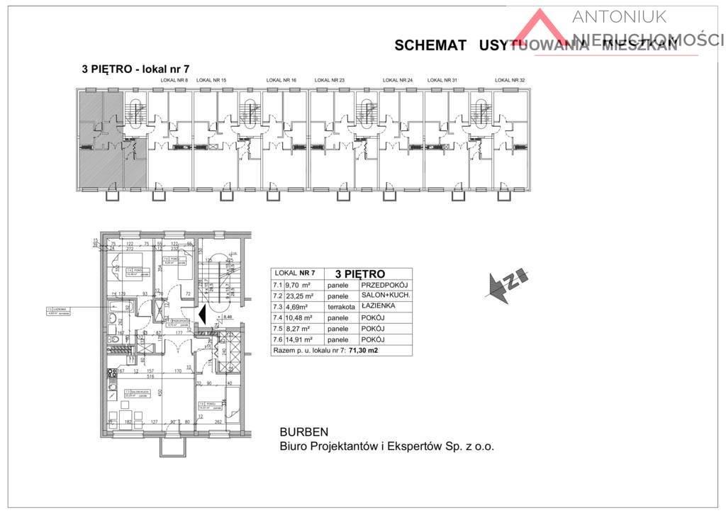 Mieszkanie czteropokojowe  na sprzedaż Wieliszew, al. Solidarności  71m2 Foto 7