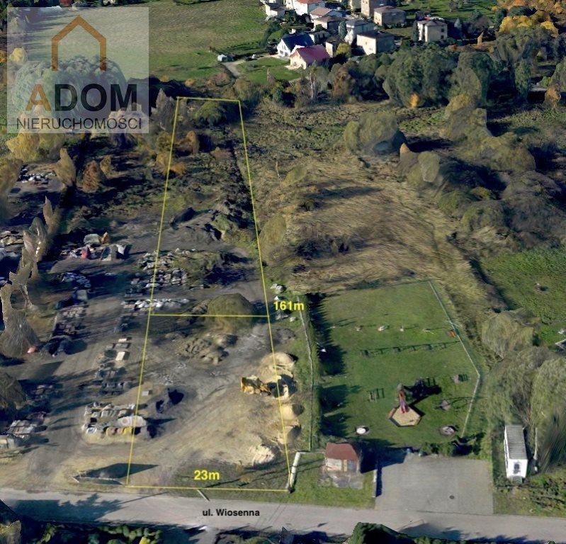 Działka budowlana na sprzedaż Chełm Śląski  3513m2 Foto 2
