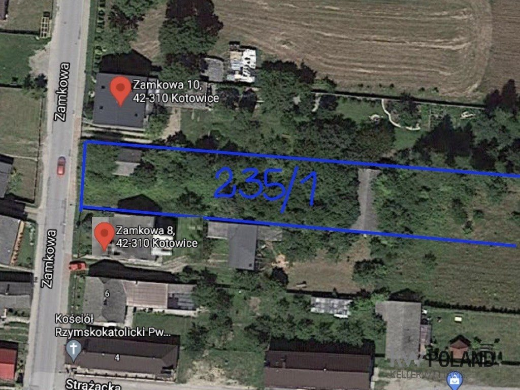 Działka budowlana na sprzedaż Kotowice, Kotowice-Mirów, Zamkowa  14250m2 Foto 1