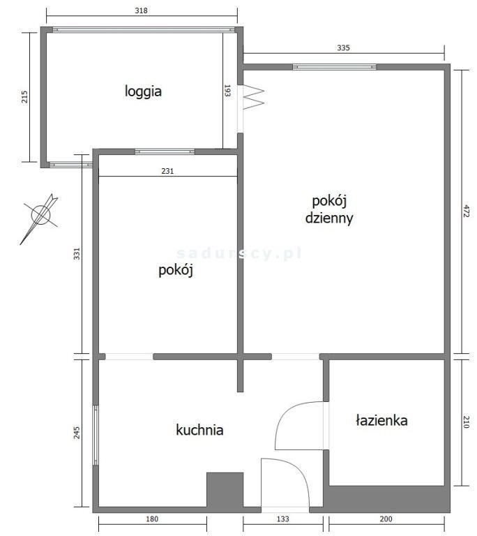 Mieszkanie dwupokojowe na sprzedaż Kraków, Prądnik Czerwony, Prądzyńskiego  36m2 Foto 4