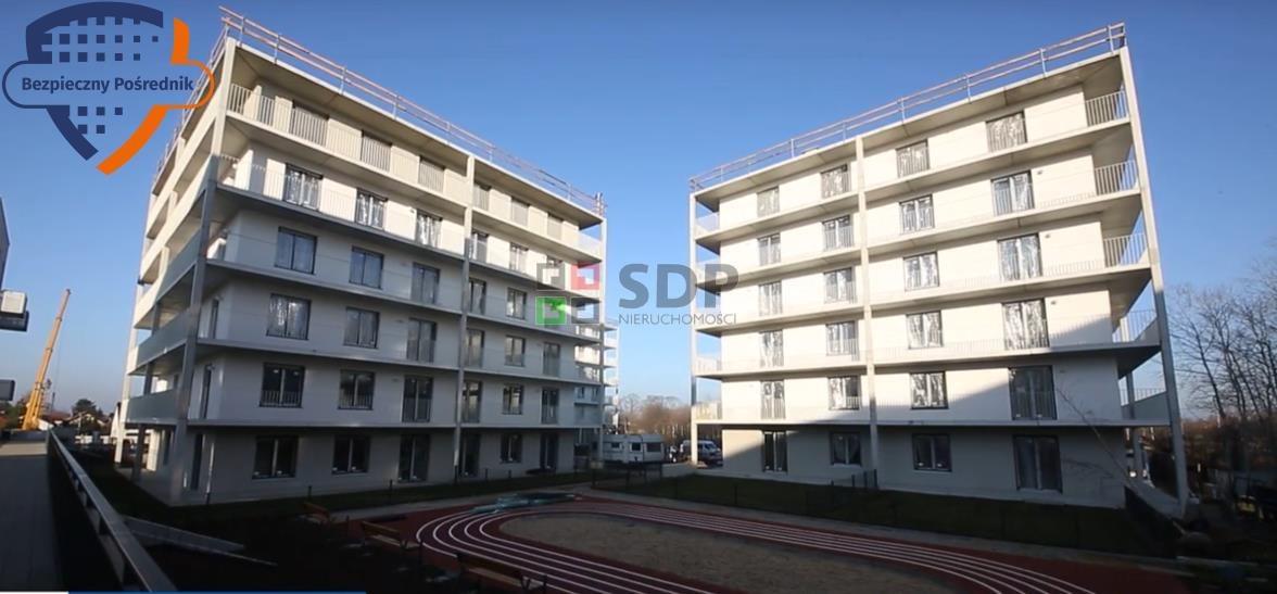 Mieszkanie dwupokojowe na sprzedaż Wrocław, Fabryczna, Żerniki, Lauterbacha Henricha  39m2 Foto 1