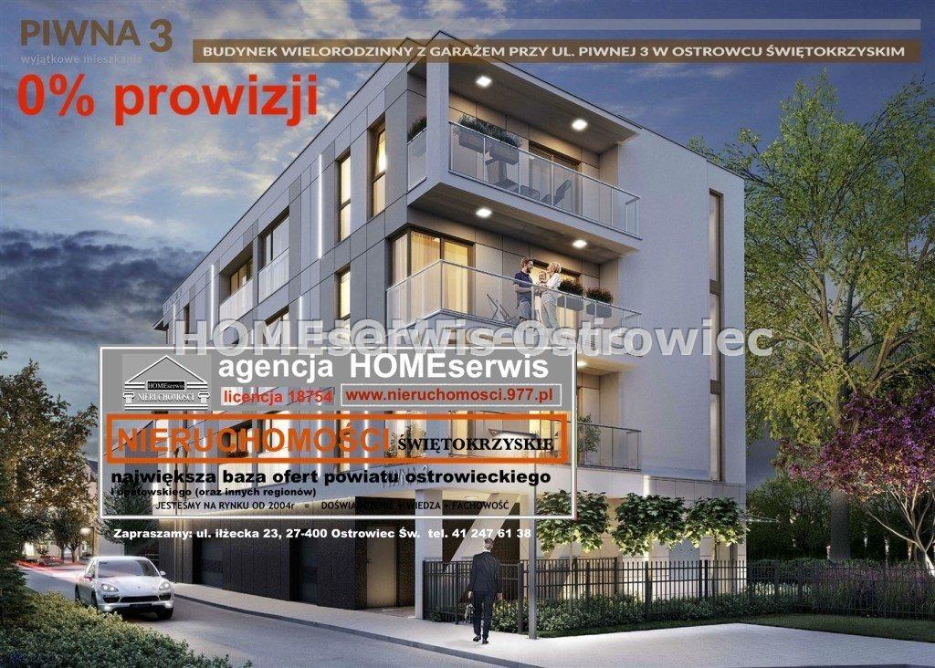 Mieszkanie trzypokojowe na sprzedaż Ostrowiec Świętokrzyski, Centrum  70m2 Foto 2