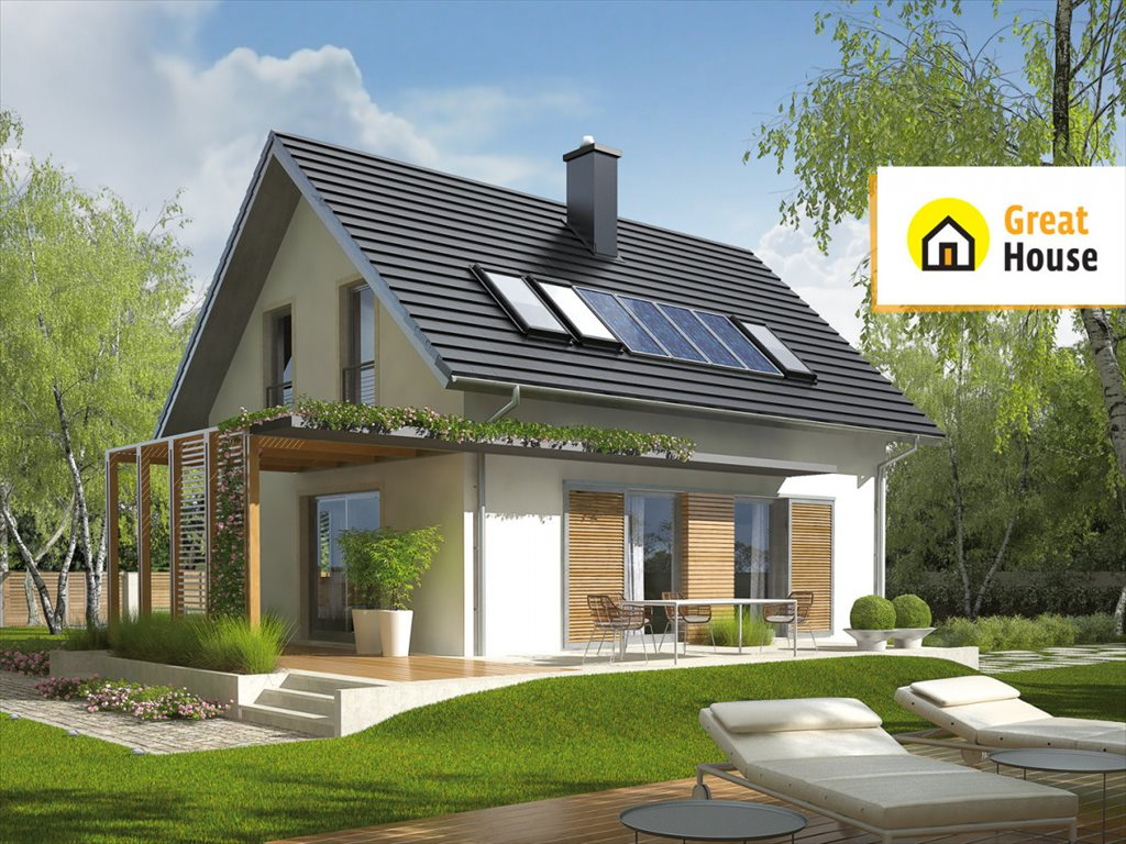 Dom na sprzedaż Oksa, Modrzewiowa  119m2 Foto 1
