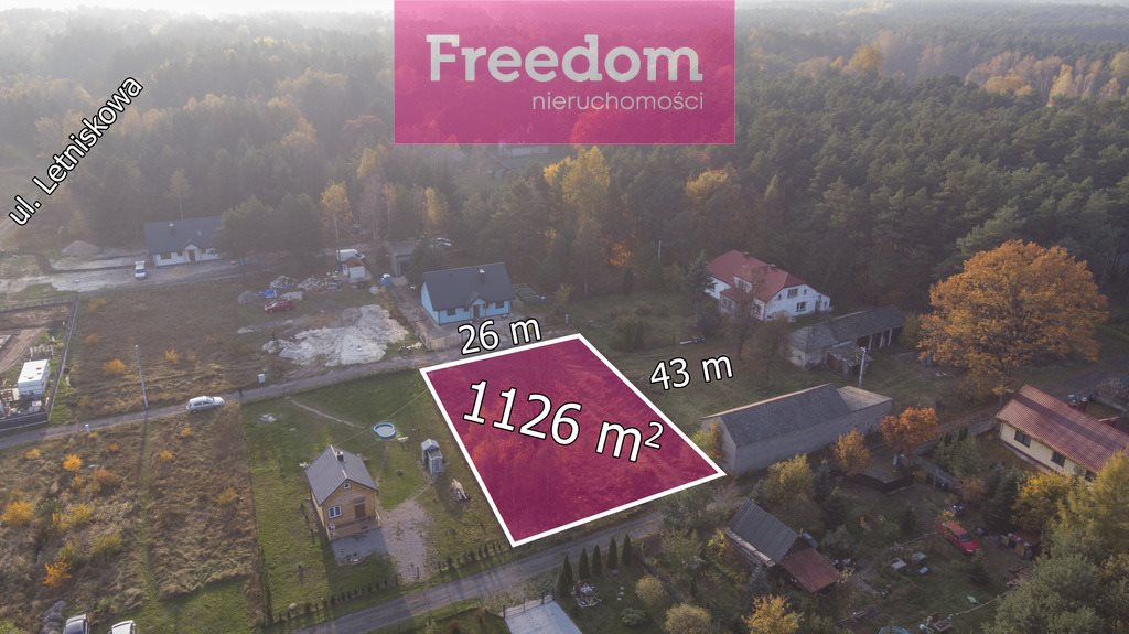 Działka budowlana na sprzedaż Masłońskie  1112m2 Foto 1
