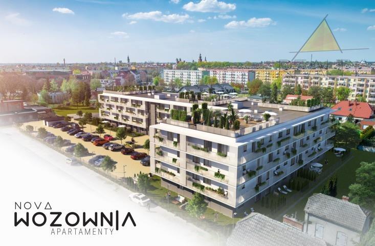 Mieszkanie dwupokojowe na sprzedaż Leszno, Sobieskiego  46m2 Foto 1