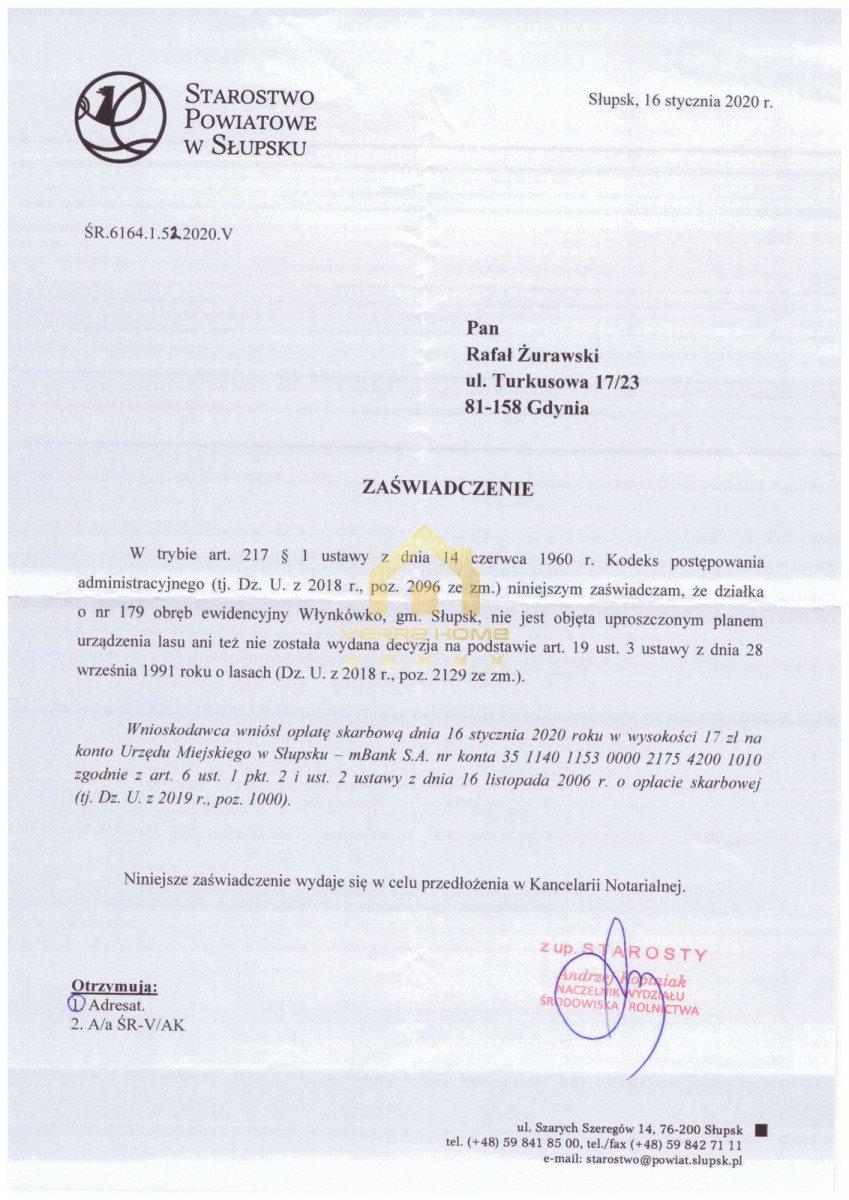 Działka przemysłowo-handlowa na sprzedaż Włynkówko  13100m2 Foto 6