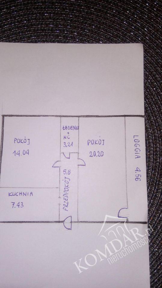 Mieszkanie dwupokojowe na sprzedaż Warszawa, Praga-Południe, Grochów, Dwernickiego  55m2 Foto 5