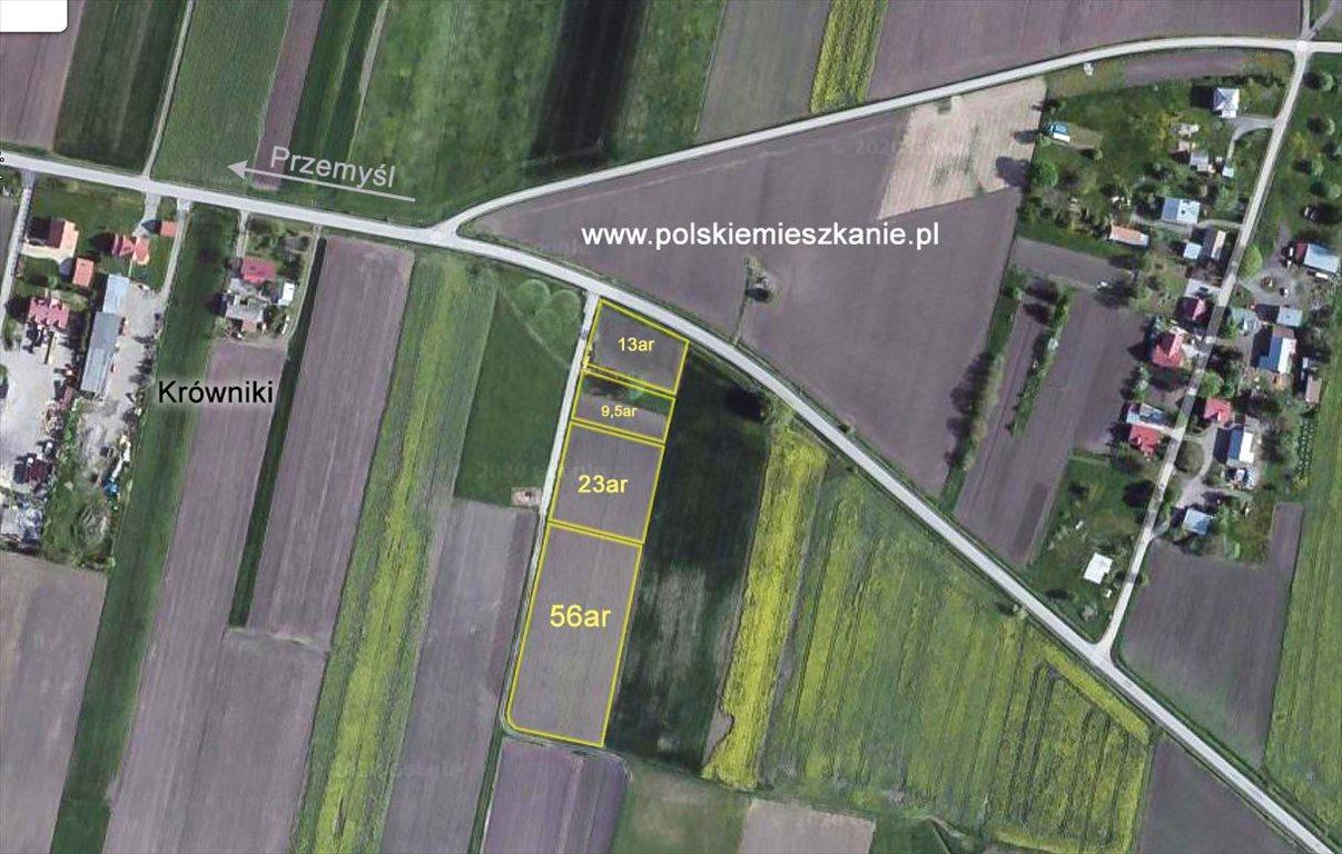 Działka rolna na sprzedaż Przemyśl, Krówniki  5500m2 Foto 13