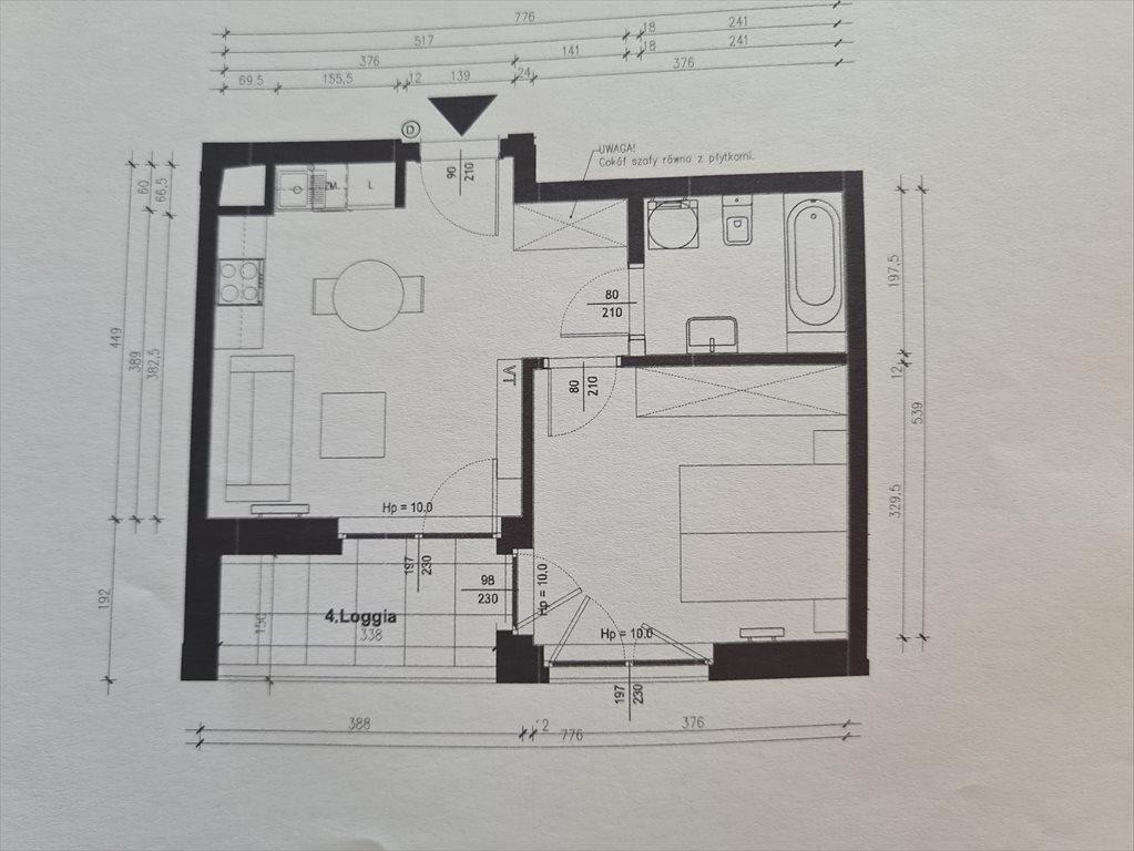 Mieszkanie dwupokojowe na sprzedaż Warszawa, Mokotów, Służewiec, Taśmowa  36m2 Foto 6