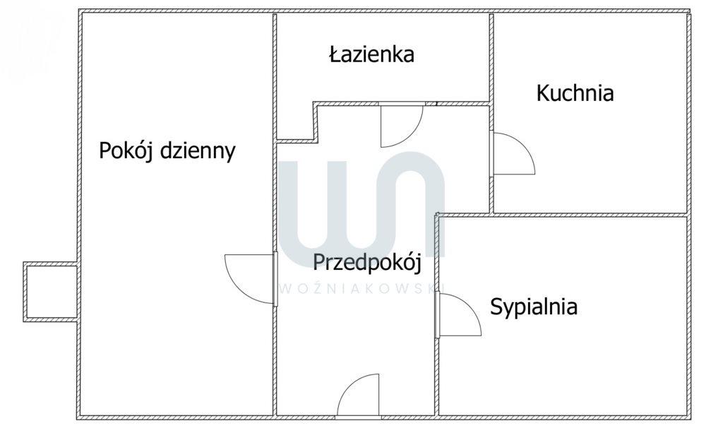 Mieszkanie dwupokojowe na sprzedaż Częstochowa, Tysiąclecie, Nałkowskiej  38m2 Foto 1