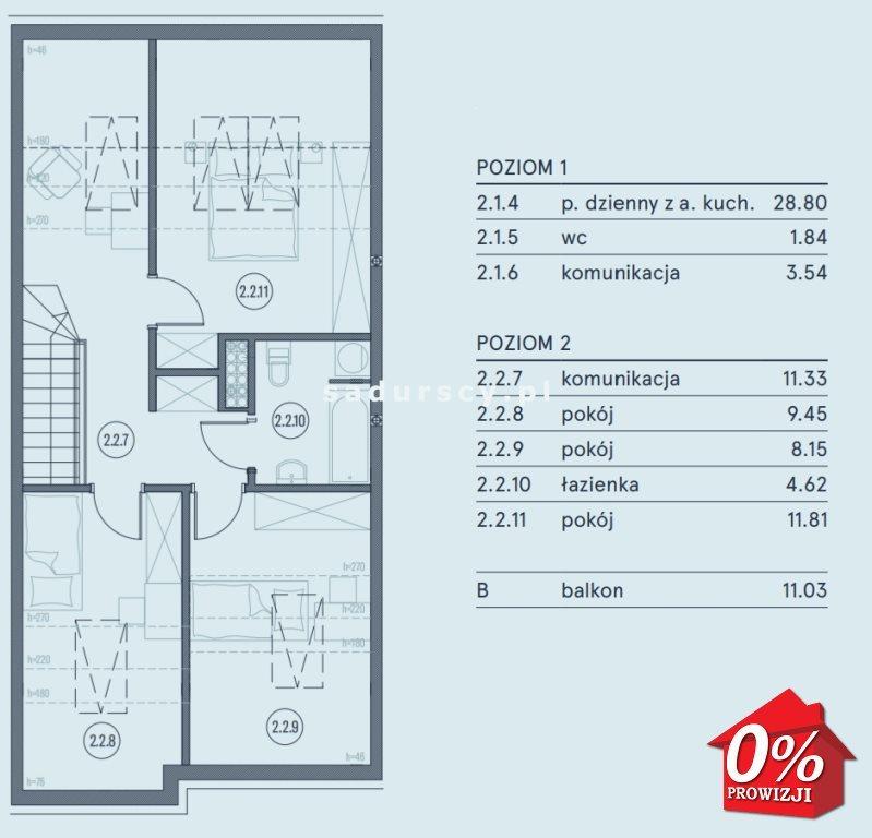Mieszkanie czteropokojowe  na sprzedaż Wieliczka, Wieliczka, Wieliczka, Kasztanowa okolice  90m2 Foto 5