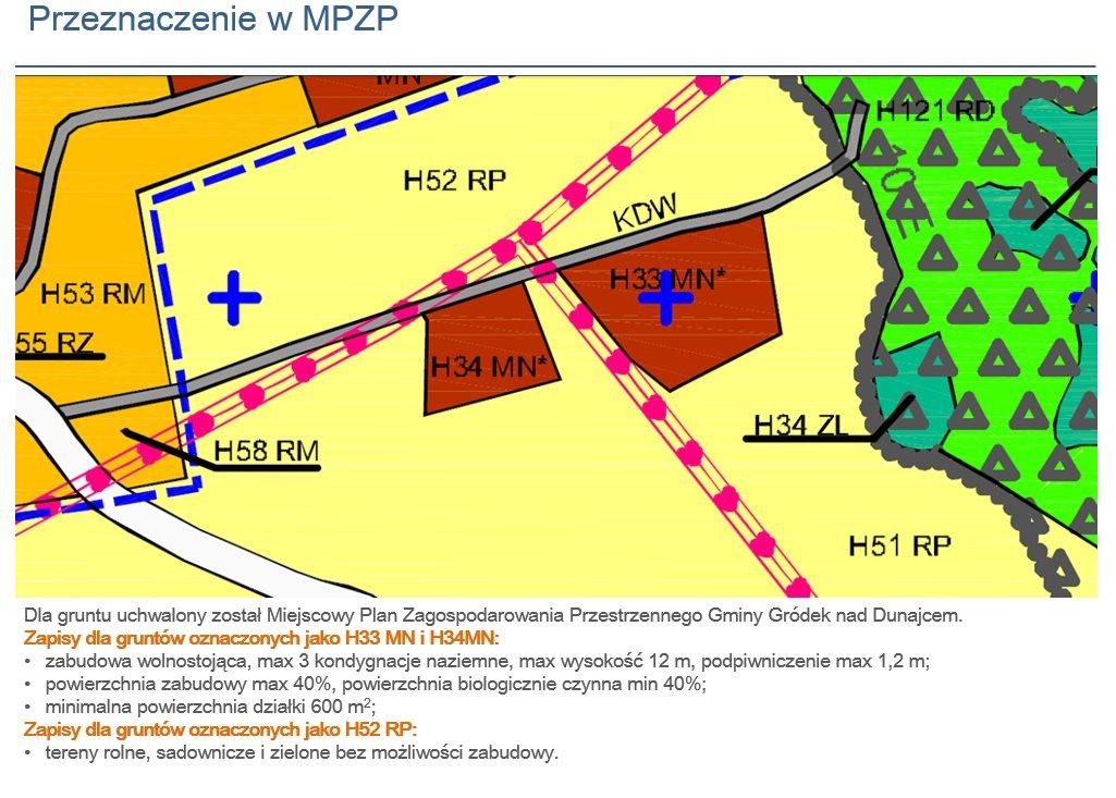 Działka budowlana na sprzedaż Gródek nad Dunajcem  600m2 Foto 7