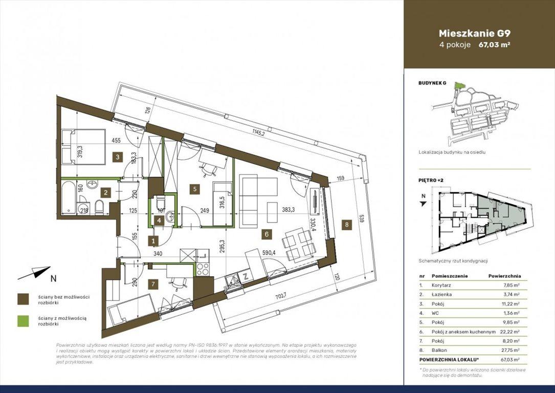 Mieszkanie czteropokojowe  na sprzedaż Warszawa, Białołęka, Płochocińska  67m2 Foto 1