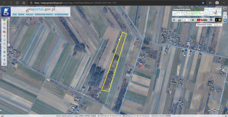 Działka rolna na sprzedaż Tadeuszów  26300m2 Foto 1