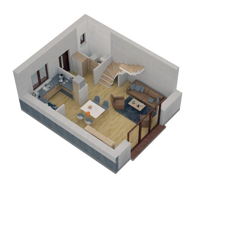 Dom na sprzedaż Suchy Las  76m2 Foto 11
