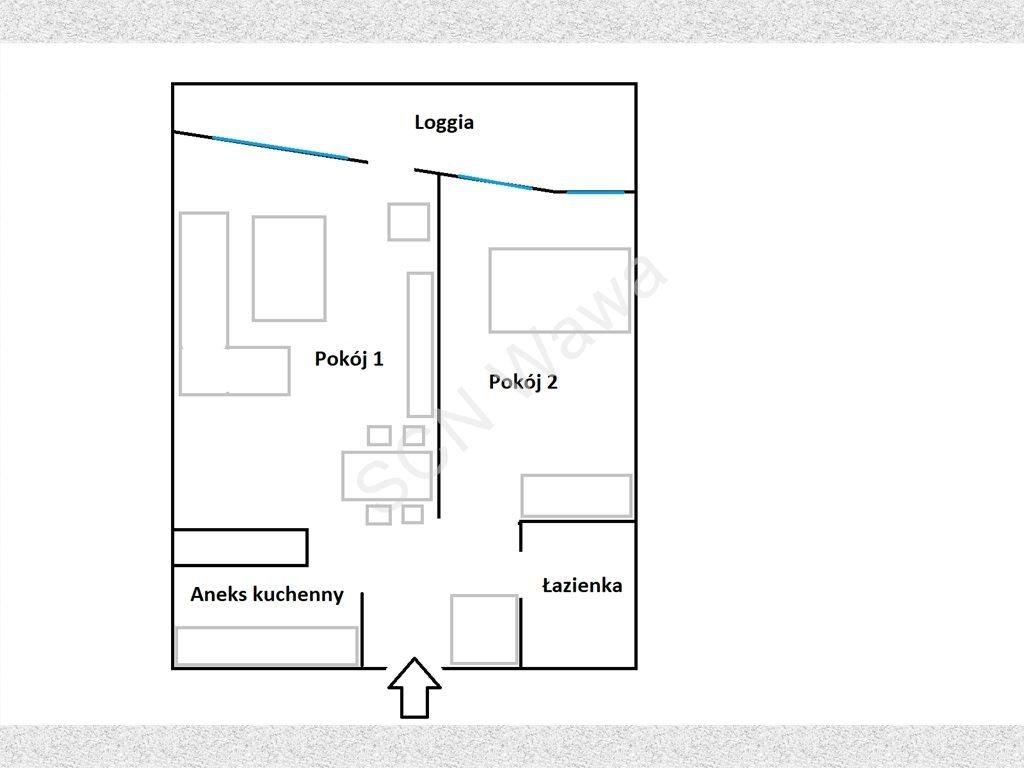 Mieszkanie dwupokojowe na sprzedaż Warszawa, Bemowo, Grodkowska  58m2 Foto 8