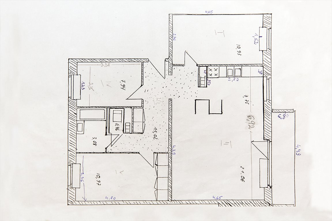 Mieszkanie czteropokojowe  na sprzedaż Warszawa, Ursynów, Marii Grzegorzewskiej 13  74m2 Foto 15