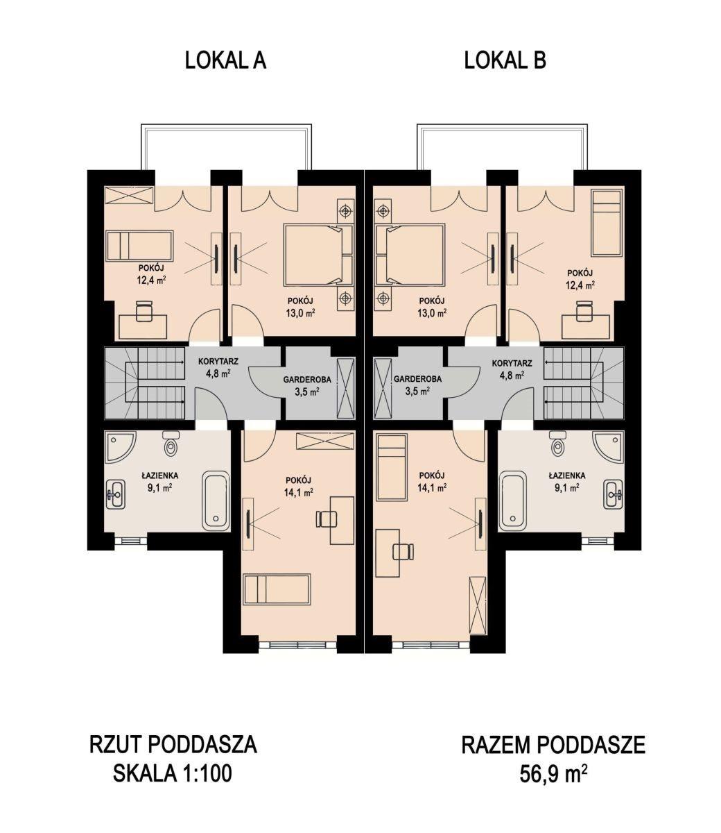 Dom na sprzedaż Gostyń, Siewna,Osiedle Widokowe  121m2 Foto 8