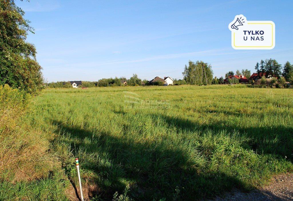 Działka budowlana na sprzedaż Zgłobice, Słoneczna  2100m2 Foto 1