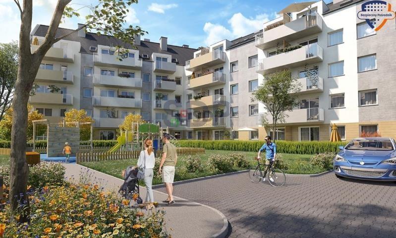 Mieszkanie dwupokojowe na sprzedaż Wrocław, Krzyki, Jagodno  37m2 Foto 1