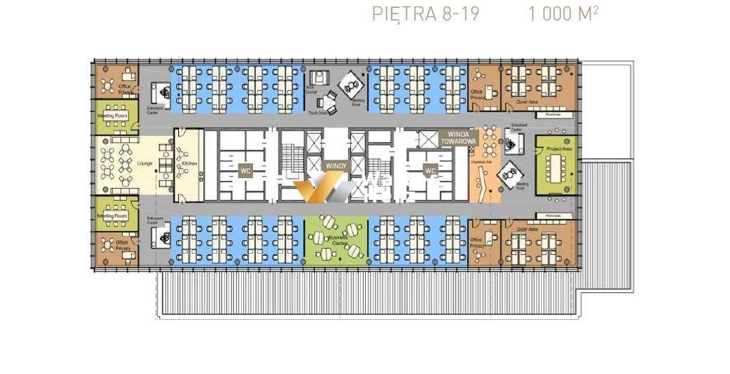 Lokal użytkowy na wynajem Łódź, Piotrkowska  5000m2 Foto 4