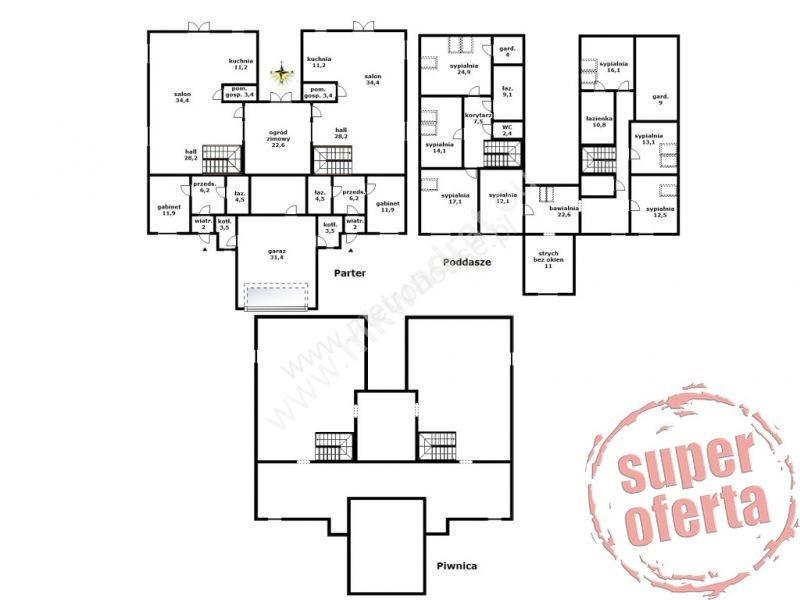 Dom na sprzedaż Łoś, Oferta wyłączna M Kwadrat - kontakt 515 200 031  600m2 Foto 2