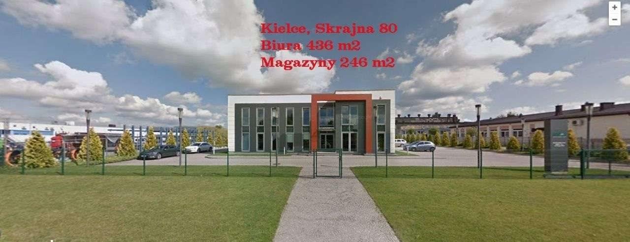 Lokal użytkowy na wynajem Kielce, Biura Biurowiec Magazyn, Biura Biurowiec Magazyn, Skrajna 80  436m2 Foto 1