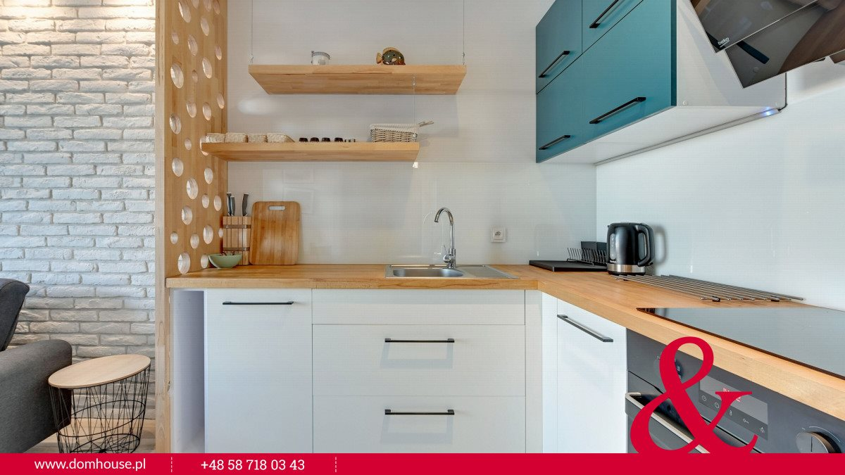 Mieszkanie dwupokojowe na wynajem Gdańsk, Śródmieście, Jaglana  39m2 Foto 2