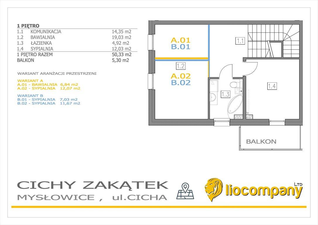 Dom na sprzedaż Mysłowice, Cicha  128m2 Foto 10