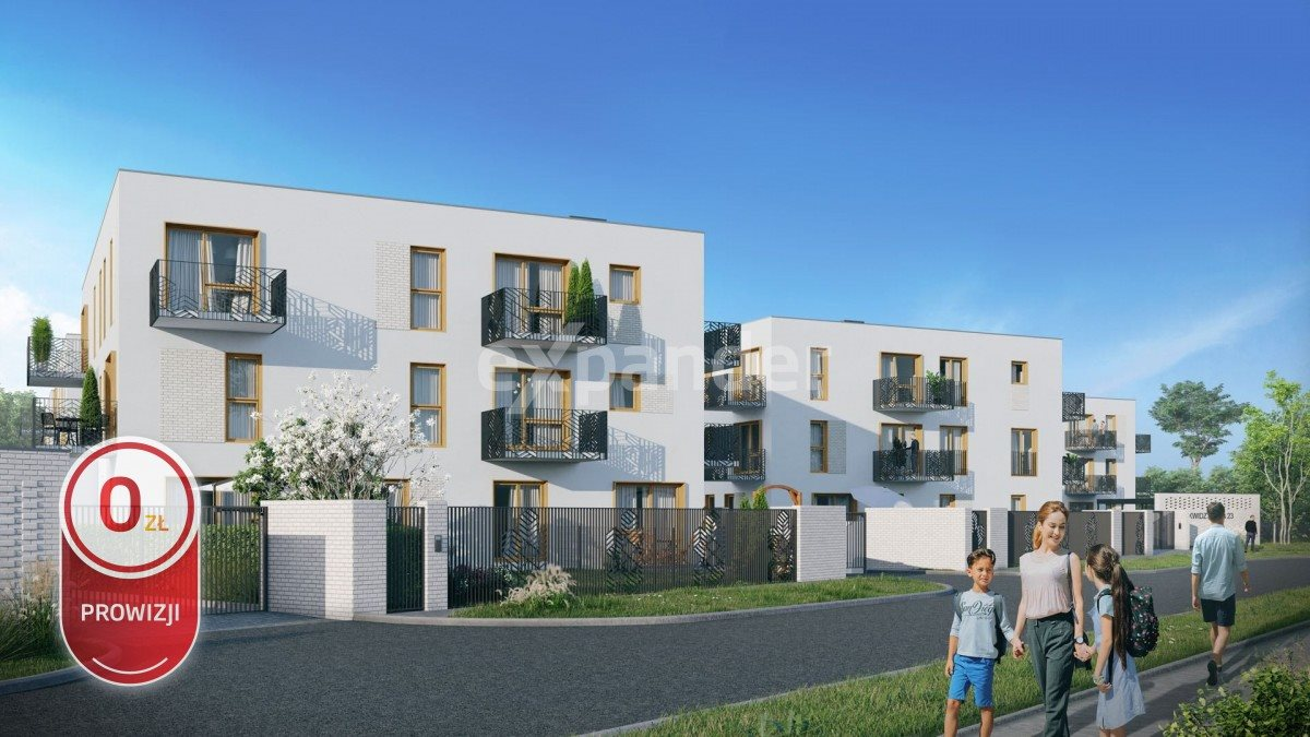 Mieszkanie trzypokojowe na sprzedaż Wrocław, Kowale  58m2 Foto 2