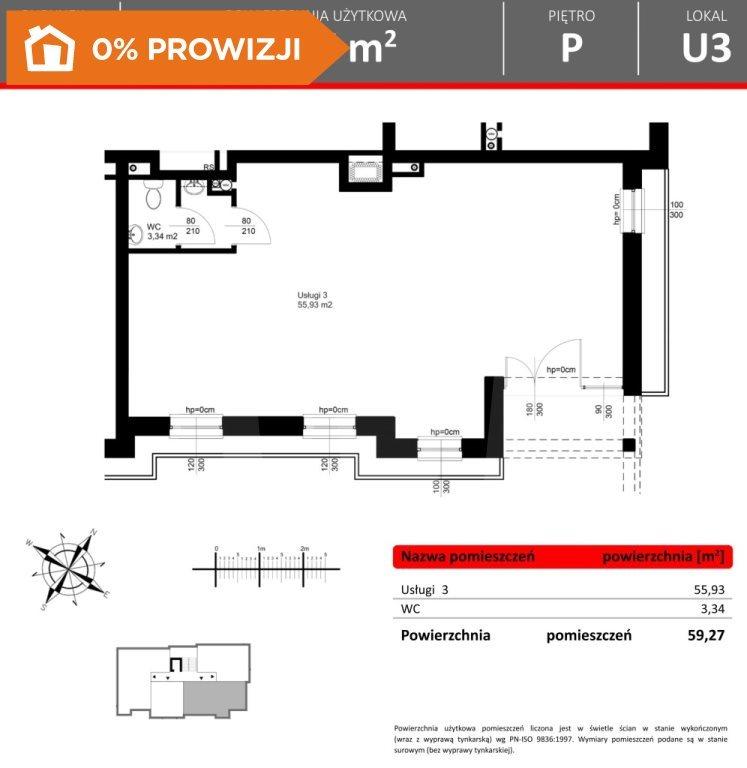 Lokal użytkowy na sprzedaż Bydgoszcz, Fordon  58m2 Foto 2