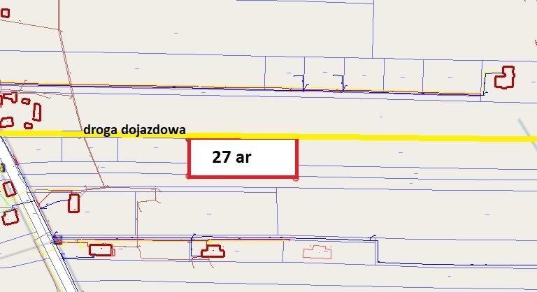 Działka budowlana na sprzedaż Głogów Małopolski  2700m2 Foto 4