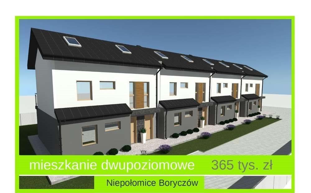 Mieszkanie czteropokojowe  na sprzedaż Niepołomice, ul. pilotów  85m2 Foto 1