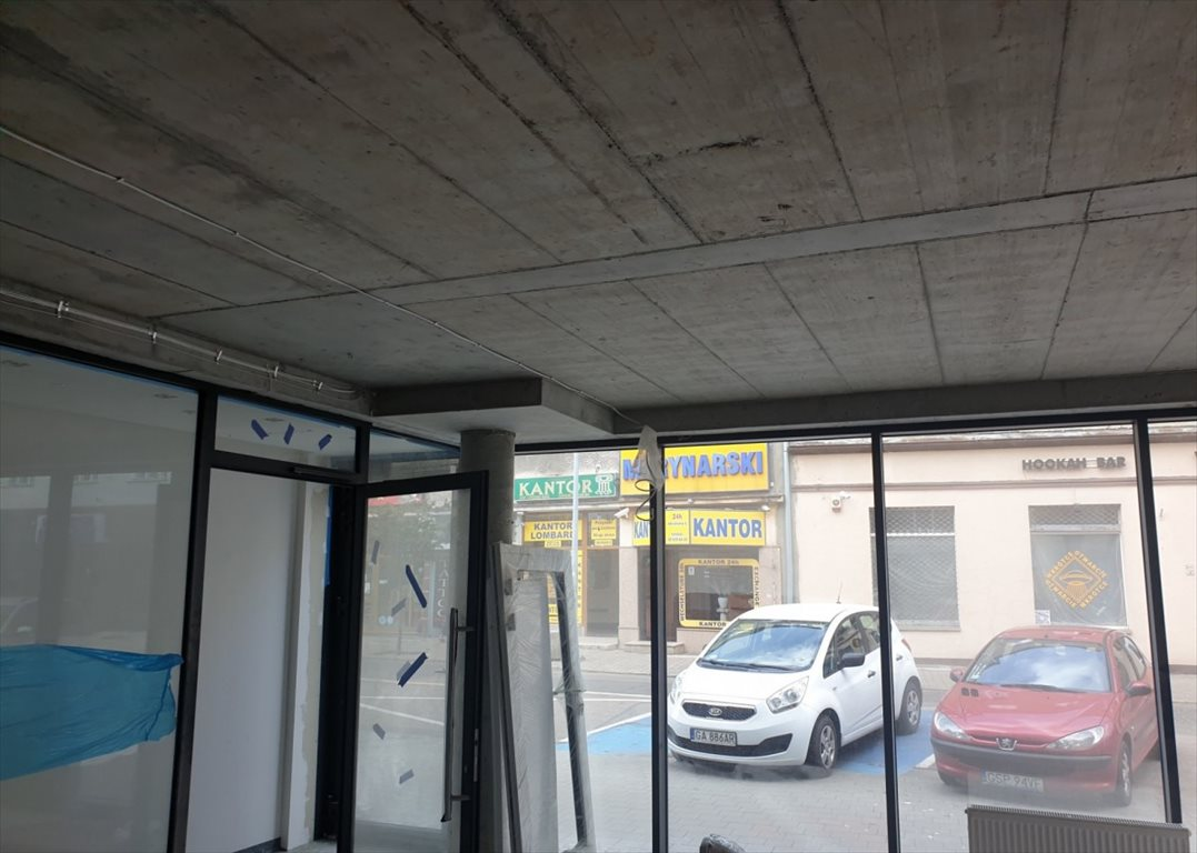 Lokal użytkowy na wynajem Gdynia, Śródmieście, Antoniego Abrahama  60m2 Foto 6