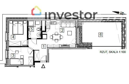 Mieszkanie trzypokojowe na sprzedaż Rzeszów, Wilkowyja  49m2 Foto 7