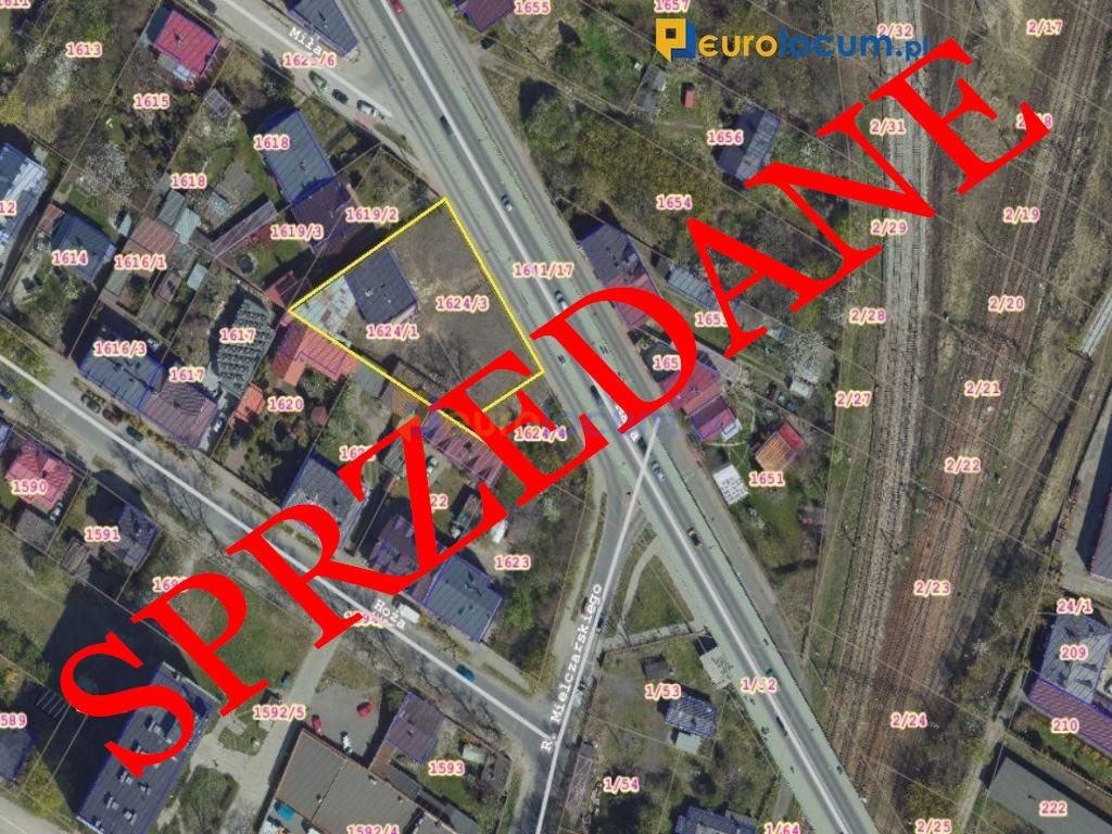 Działka inwestycyjna na sprzedaż Kielce, Czarnów, 1-go  Maja  1433m2 Foto 1