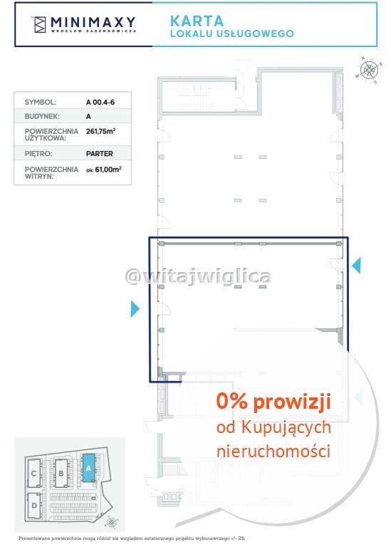 Lokal użytkowy na sprzedaż Wrocław, Fabryczna, Strachowice, Władysława Zarembowicza  262m2 Foto 8