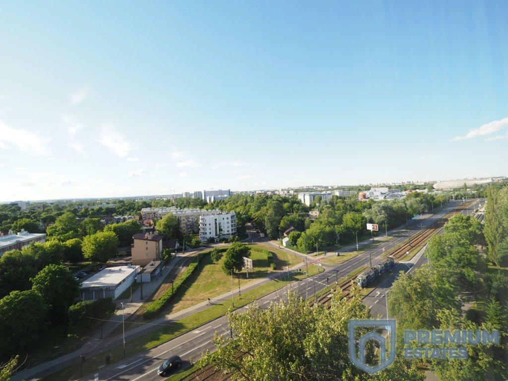 Mieszkanie trzypokojowe na wynajem Kraków, Grzegórzki, Dąbie, Widok  49m2 Foto 11