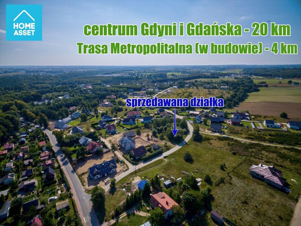 Działka budowlana na sprzedaż Warzenko, Nad Stawem  4500m2 Foto 3