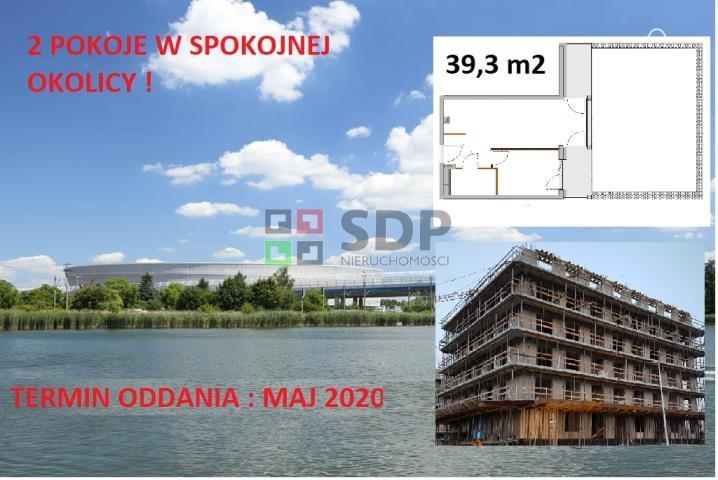 Mieszkanie dwupokojowe na sprzedaż Wrocław, Fabryczna, Kosmonautów  39m2 Foto 1