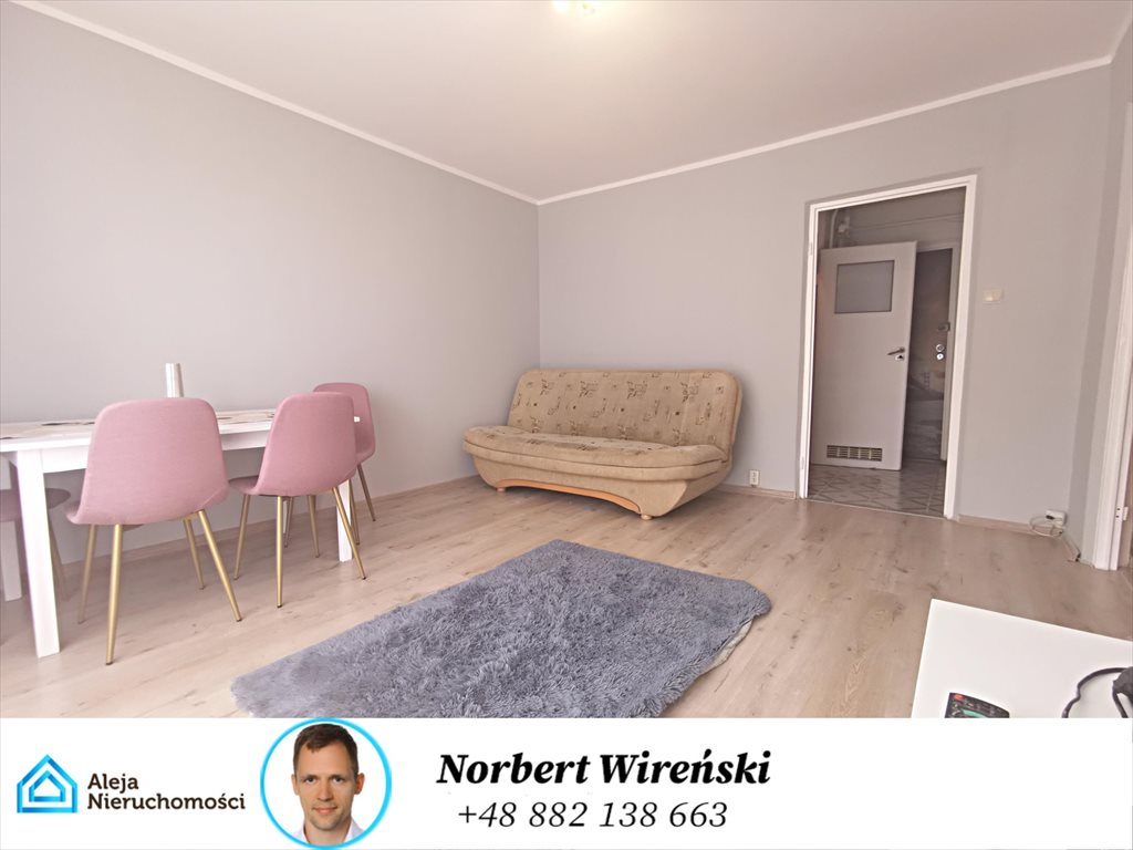 Mieszkanie dwupokojowe na wynajem Częstochowa, T. Zana  36m2 Foto 1