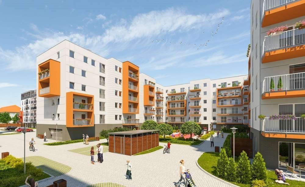 Mieszkanie dwupokojowe na sprzedaż Poznań, Stare Miasto, Winogrady  47m2 Foto 3