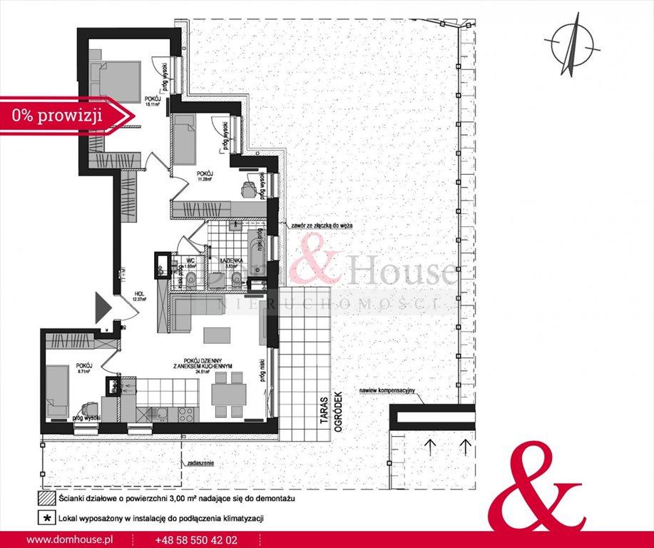 Mieszkanie czteropokojowe  na sprzedaż Gdańsk, Śródmieście, Powstańców Warszawskich  82m2 Foto 4