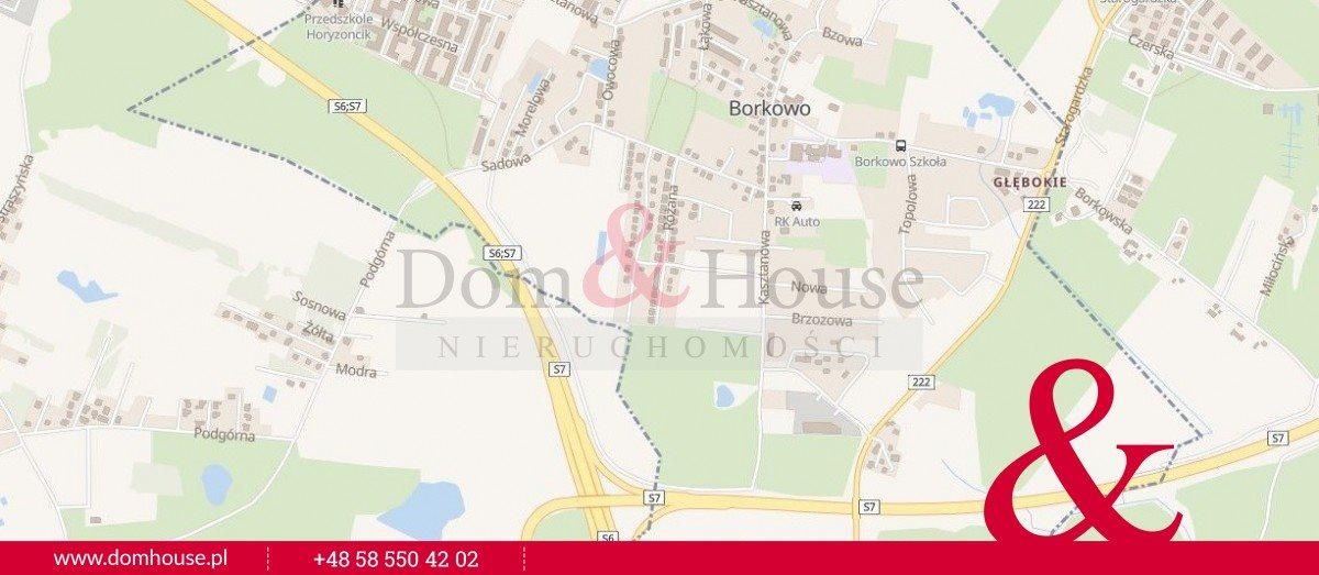 Działka inwestycyjna na sprzedaż Borkowo  9001m2 Foto 1