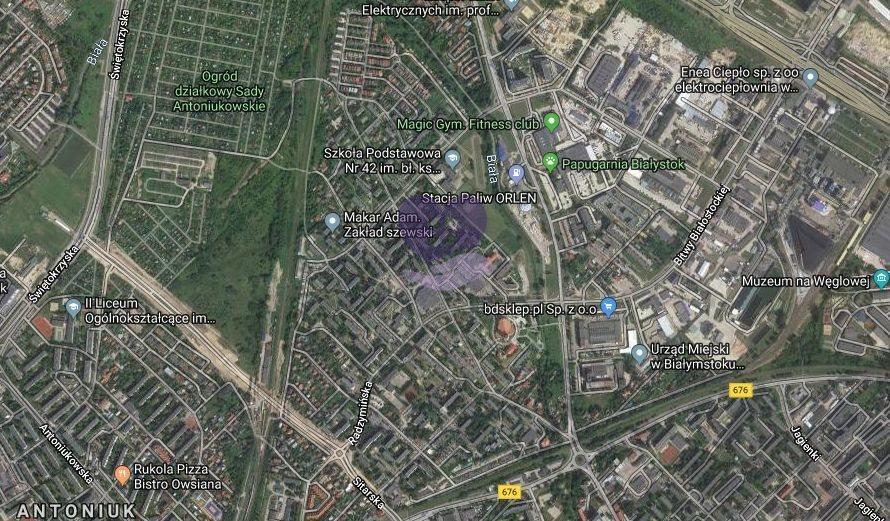 Działka budowlana na sprzedaż Białystok, Białostoczek  600m2 Foto 1