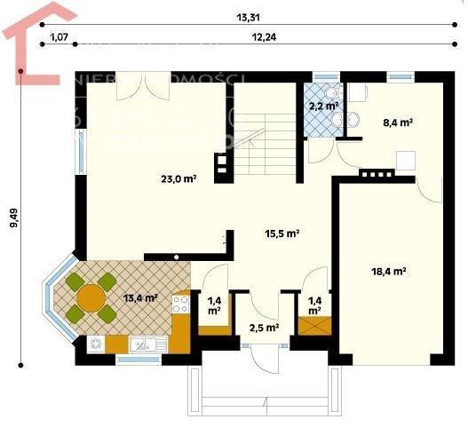 Dom na sprzedaż Łowęcin  140m2 Foto 3