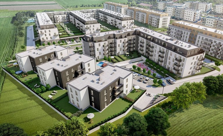 Nowe mieszkanie dwupokojowe Kajdasza etap II Wrocław, Kajdasza  48m2 Foto 5