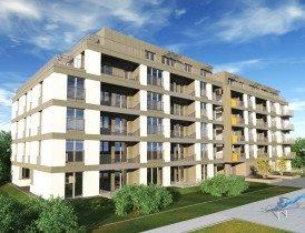 Nowe mieszkanie dwupokojowe Głowackiego 30 bud 1 i 2  Kraków, Głowackiego 30  43m2 Foto 1