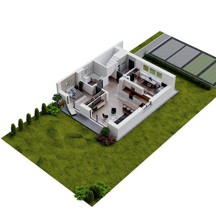 Nowe mieszkanie trzypokojowe Osiedle Ulica Srebrna Zielonki, Marszowiec, Ulica Srebrna, Galicyjska  62m2 Foto 11