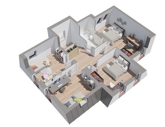 Nowy dom Osiedle przy Marinie Baranowo, ul. Wypoczynkowa  135m2 Foto 8